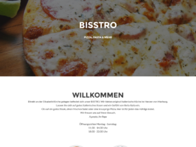 Website Bisstro Marburg